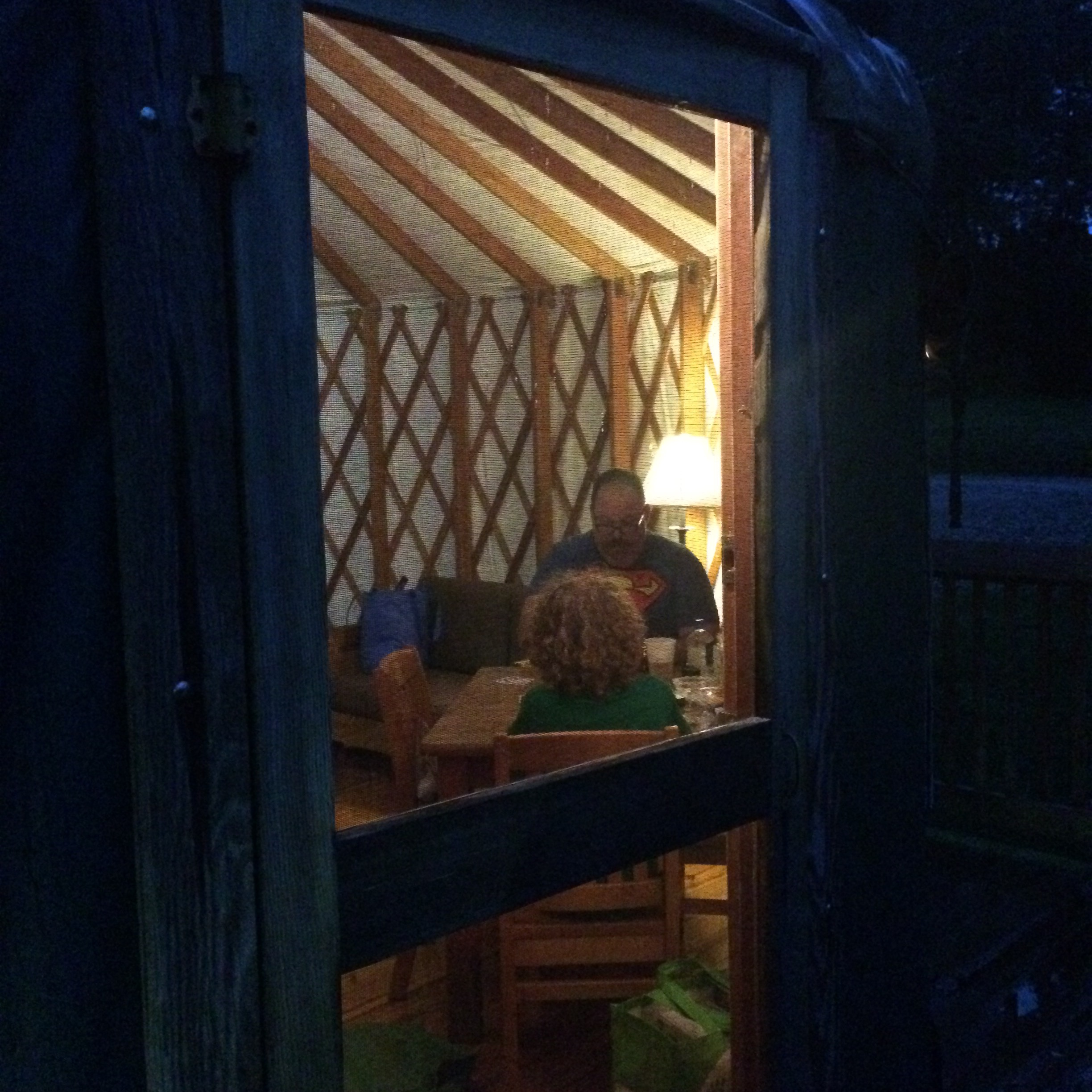 Book a yurt for a unique camping experience