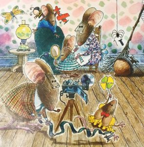 The Attic Mice by Ethel Pochocki and David Catrow
